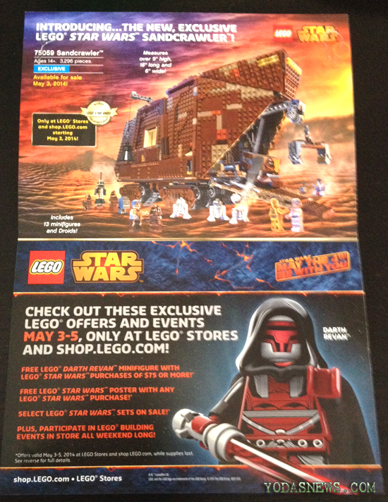 LEGO May The 4th Offers Mailer - YodasNews.com – Star Wars Action ...